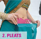 how to Wear Saree with Saree Pleat Maker -2