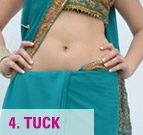 how to Wear Saree with Saree Pleat Maker-4