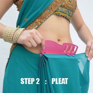 Wear Perfect Sari Tip no 2